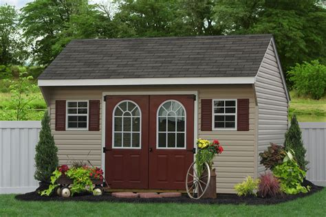 amish sheds economy garden sheds wooden and vinyl siding amish built
