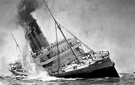 when did lusitania sink why do we care about the titanic more than the lusitania