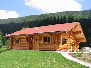 la pessiere lodge et chalet en bois ronds fuste rondin With maison en fuste prix 5 construction maison en bois