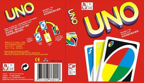 uno game miniatures tutorials  books uno cards