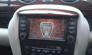 Rover 75  Mg Radio  Satnav  Cd  Dvd  Bluetooth Phone