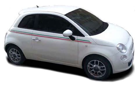 Fiat 500 Graphics by 2007 2018 Fiat 500 Quot Italian Side Quot And Green Door