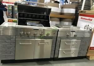 costco kitchen island kitchenaid 7 burner island grill cover included costcochaser