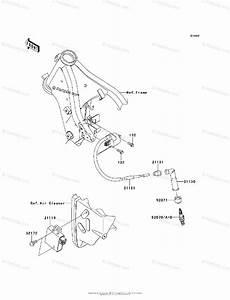Kawasaki Motorcycle 2010 Oem Parts Diagram For Ignition