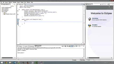 Sleep Java by How To Pause A Java Program Youtube