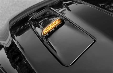 mustang hood mounted turn signal kit fits gts