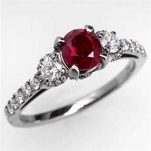 ruby engagement rings natural ruby engagement rings With wedding rings with rubies