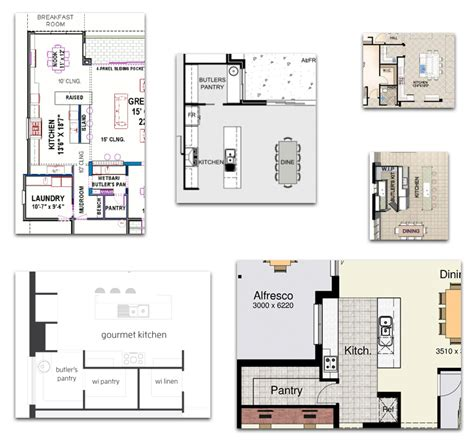 Butlers Pantry Floor Plans House Plans With Butlers Pantry