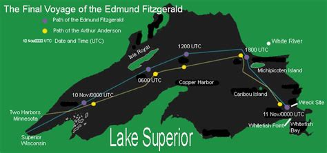 weather events the edmund fitzgerald storm