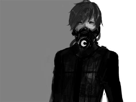 Anime Guy With Mask