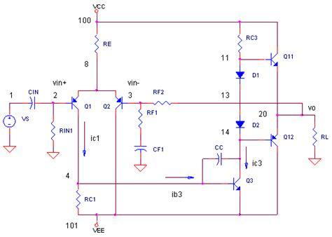 basic audio amplifier