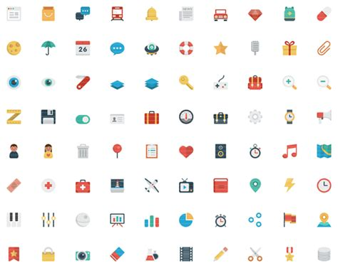Web Bid Smallicons A Big And Flat Set Of Small Icons