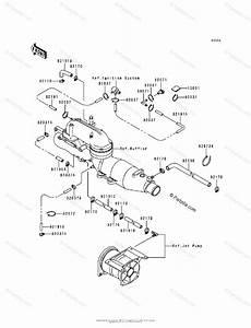 Kawasaki Jet Ski 1998 Oem Parts Diagram For Cooling