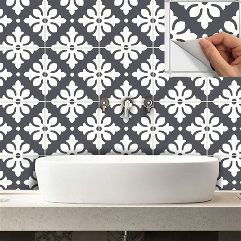 Fliesenaufkleber Boden by Tile Stickers Decal For Kitchen Bathroom Back Splash Or