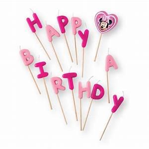 Happy Birthday Maus : happy birthday kerzen minnie maus 14 tlg g nstig kaufen bei ~ Buech-reservation.com Haus und Dekorationen