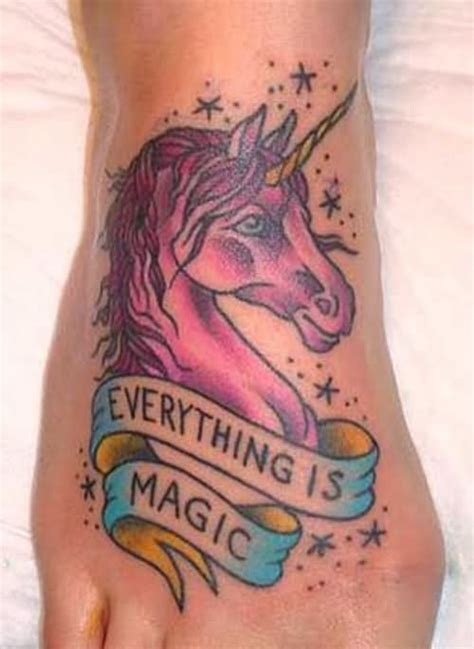 wonderful unicorn tattoo images  pictures