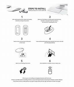 Terabyte Ultra Slim Wireless Mouse 2 4 Ghz Nano Receiver