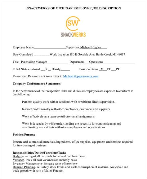 cover letter purchasing manager ideas exles of