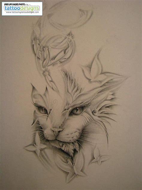 wild tattoos cat tattoo designs