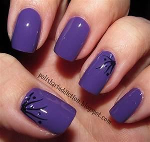 Polish Art Addict: Mira + simple nail art