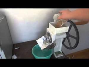 Comment Faire De L Électricité : comment faire sa propre farine sans lectricit youtube ~ Melissatoandfro.com Idées de Décoration