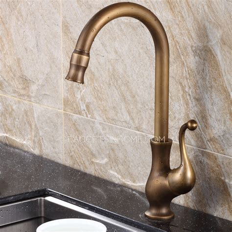 Best Antique Brass Rotate Old Kitchen Sink Faucets