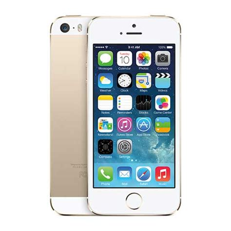 new apple iphone 5s boost mobile smartphone white gold