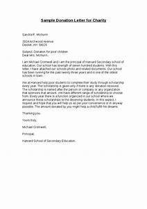 sample donation letter for charity hashdoc With sample letter of donation to charity