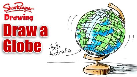 draw  globe real easy youtube
