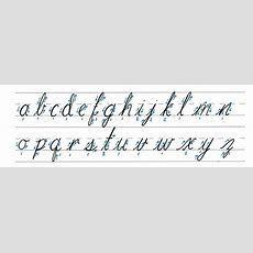How To Write A 'q' In Cursive Quora