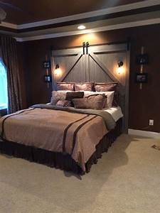 barn door headboard for sale brown lots of drawers With barn door style headboard