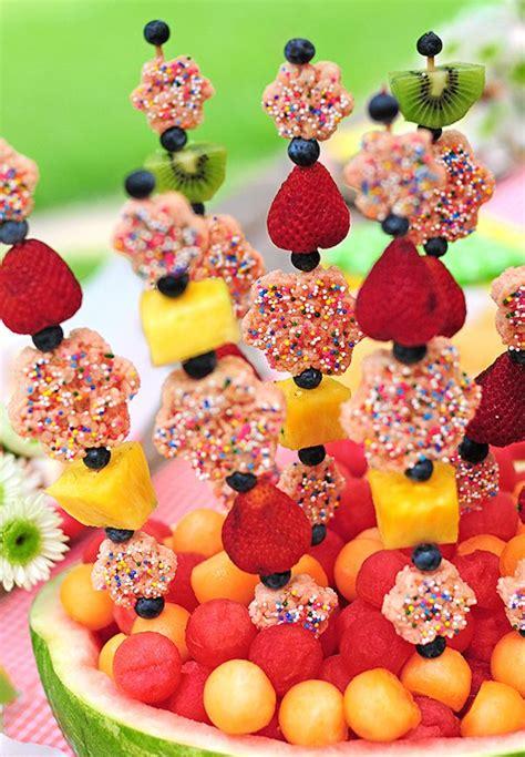 10 brochetas de frutas divertidas y originales recetas para cocinar fruta