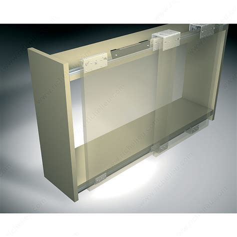 sliding cabinet door systems ps10 by pass sliding system for 3 large cabinet doors