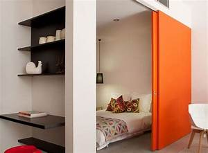 creer porte coulissante maison design sphenacom With realiser une porte coulissante