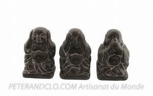 Statue Singe De La Sagesse : singes sagesse 3 singes singes de la sagesse ou du bonheur ~ Teatrodelosmanantiales.com Idées de Décoration