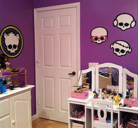 high bedroom decorating ideas monster high room decor ideas for kids room
