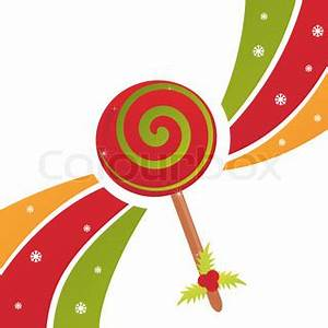 christmas lollipop background