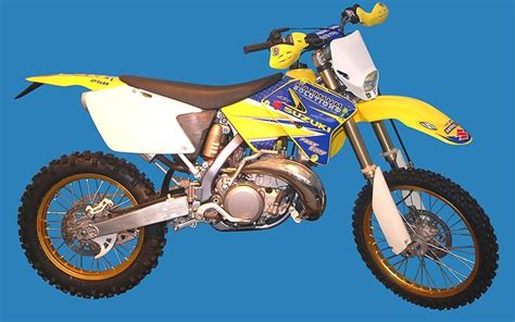 Suzuki Rm250 Enduro Motorcycle Launched
