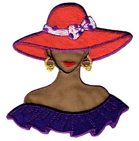 Ladies Red Hat Society Clip Art