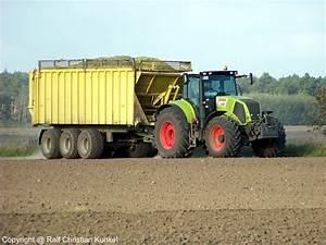 Traktor Mit Hänger : claas axion 840 mit fliegl dreiachs h nger traktor ~ Jslefanu.com Haus und Dekorationen