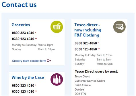 tesco mobile contact credit cards archives uk customer service contact