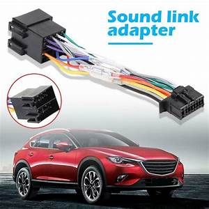 Car Stereo Radio Iso Standard Wiring Harness Plug Cable