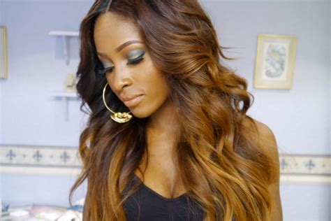 Honey Brown Ombre Hair Color