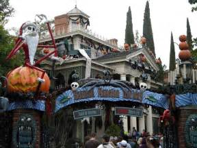 nightmare before haunted mansion pictures