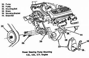 I U0026 39 M Looking For The Bracket Layout For A 1989 K 1500 And 350 C I Engine With A  C  I Can U0026 39 T Locate