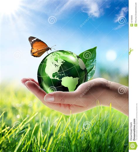 Eco-friendly Concept Stock Illustration. Illustration Of
