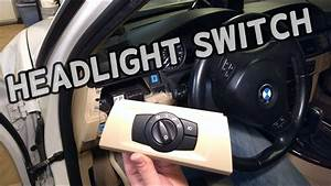 How To Replace Headlight Switch Bmw E90 E92 E91 E93