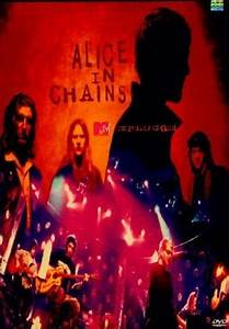 Alice in Chains - Unplugged DVD (1996) Starring Alice In ...