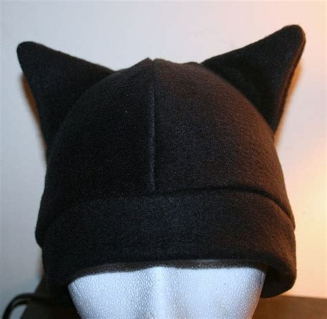 fun fleece hats  animal hat sewing  cut