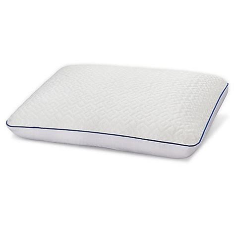 serta cool gel memory foam pillow serta 174 gel memory foam pillow with constantcool cover